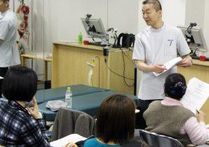 JACM 日本カイロプラクティック医学協会 田中先生セミナー風景