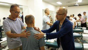 頸椎の椎間板変性のテストを練習