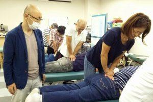 腰椎の椎間板変性のテストを練習