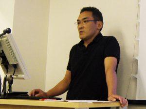講師の小山章先生(コンディショニングスペースB-reset代表)