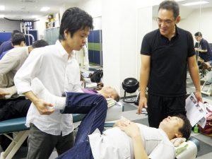 股関節の動作テスト